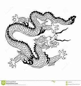 Chinese Dragon stock vector. Illustration of ethnic ...