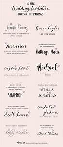 wedding invitation font pairing guide with free killer With wedding invitation font online