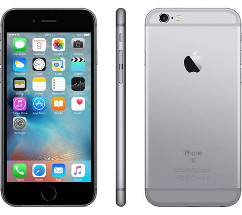 iphone 6s 32gb apple iphone 6s 32 gb space grey deals pc world