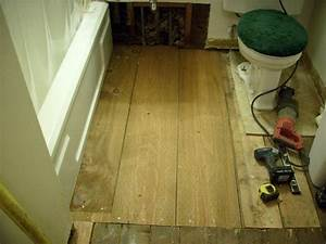 bathroom beam and floor repair deck masters llc With bathroom floor replacement