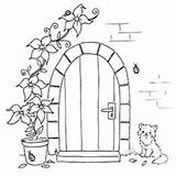 Coloring Pages Stamps Colouring Embroidery Door Digital Front Digi Patterns Sheets Adult Books Cute Cut sketch template