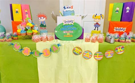 Rugrats Baby Shower Rugrats Birthday Party Ideas Photo 5 Of 8 Catch My Party