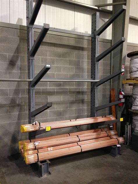 cantilever storage racks  incline single sided cantilever racks