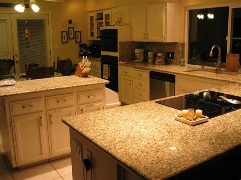 granite countertops with brown cabinets photos of granite kitchen tops new venetian gold granite