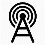 Tower Icon Network Mobile Cell Cellular Antenna