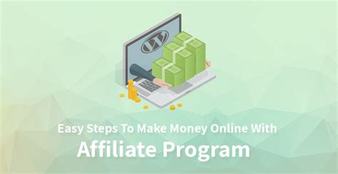 Easy Steps To Make Money Online With Affiliate Program ...