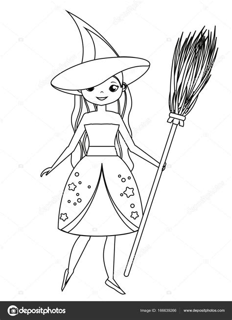 witch drawing  getdrawings