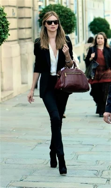 Street Style Inspiration | fashion trends Casual chic in black skinny pants | Cool Chic Style ...