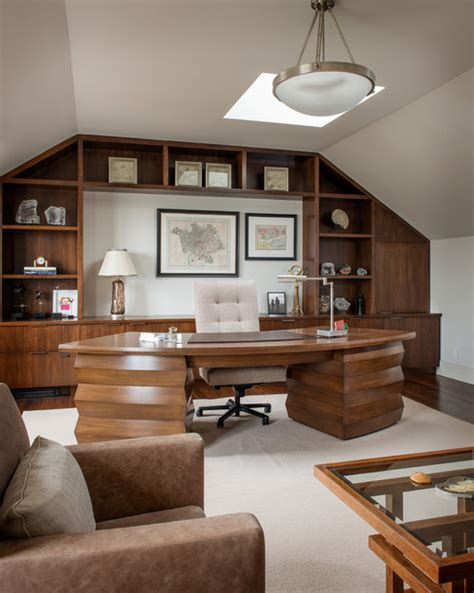 traditional executive office home office ideas hines geralin Traditional Executive Office