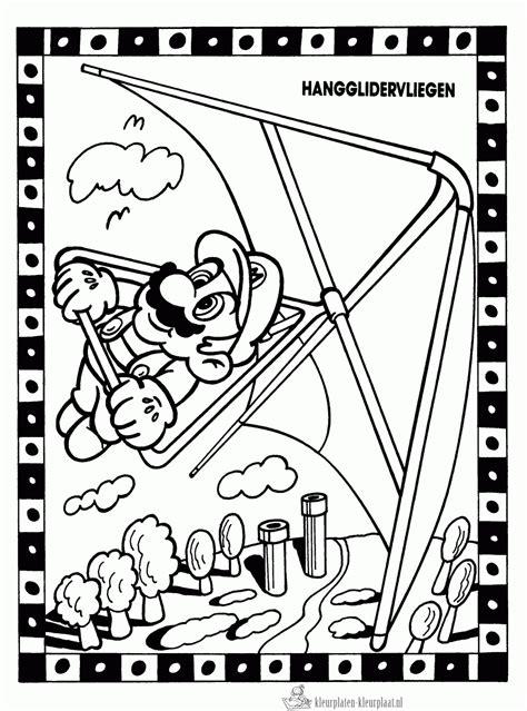 Mario Sonic Kleurplaten by Kleurplaten Mario Kleurplaten Kleurplaat Nl