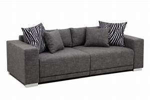 Big Sofa 250 Cm : b famous big sofa london xlstruktur grau 237x103 cm m bel24 xxl m bel ~ Bigdaddyawards.com Haus und Dekorationen
