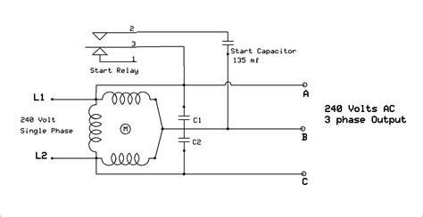 Baldor Single Phase Motor Capacitor Wiring by How To Wire A Single Phase Motor With Capacitor