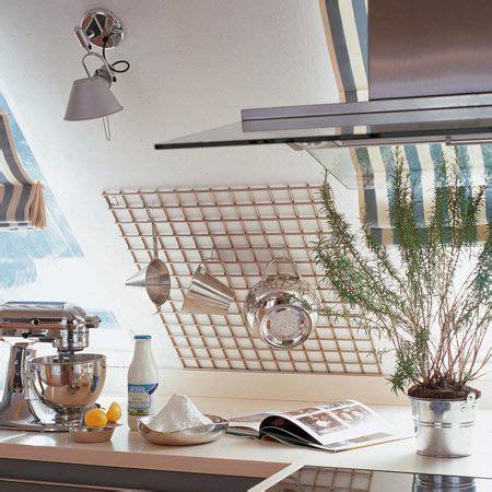 Gitter Für Küchenutensilien by Einrichtungsideen F 252 R Eine Mansarde Hacks K 252 Che