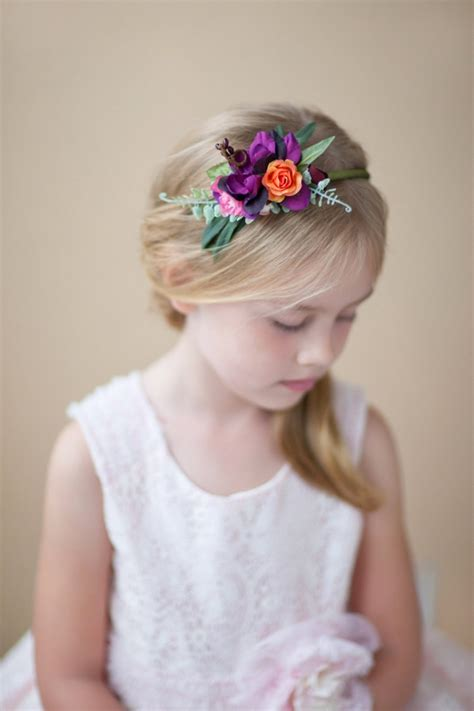 adorable flower girl hair accessories intimate