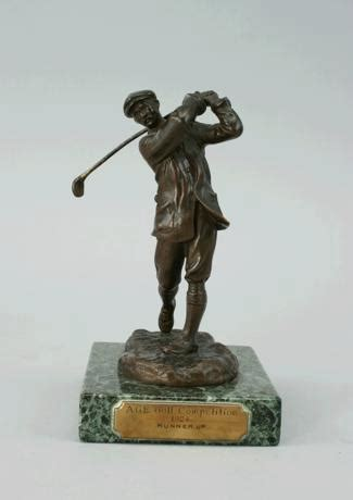 golf statues home decorating harry vardon bronze golf statue for antiques