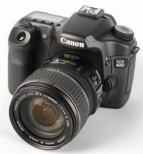 Digital Camera Dslr Review  Canon Eos 40d Digital Slr Review