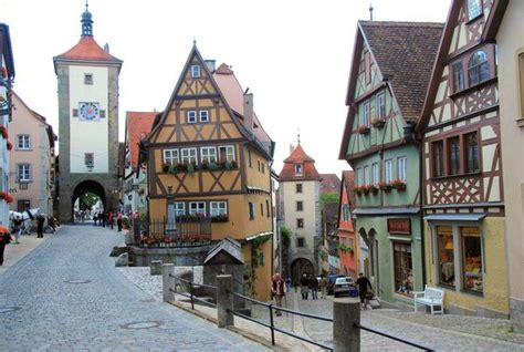 quaint towns quaint german town travel places pinterest