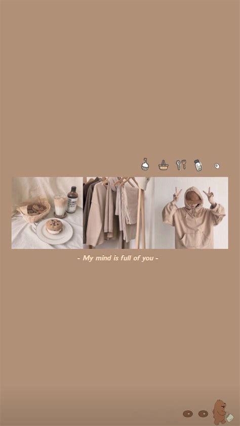 beige puzzle instagram template set aesthetic wallpapers