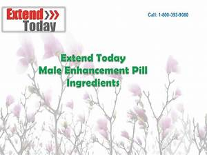Extend Today Male Enhancement Pill Ingredients