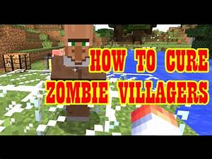 How To Make A Splash Potion Of Weakness And Cure Zombie