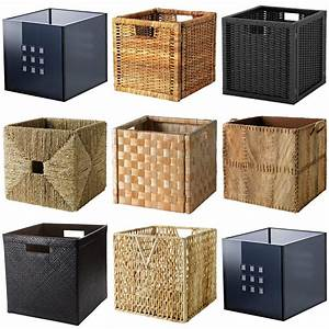 Ikea Box Kallax : ikea boxes baskets dimensioned to fit expedit shelving unit complete range ebay ~ Orissabook.com Haus und Dekorationen