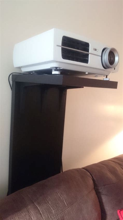 video projector stand  wont screw   wall