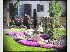 Small Flower Bed Ideas For Front Of House Home Design Yard