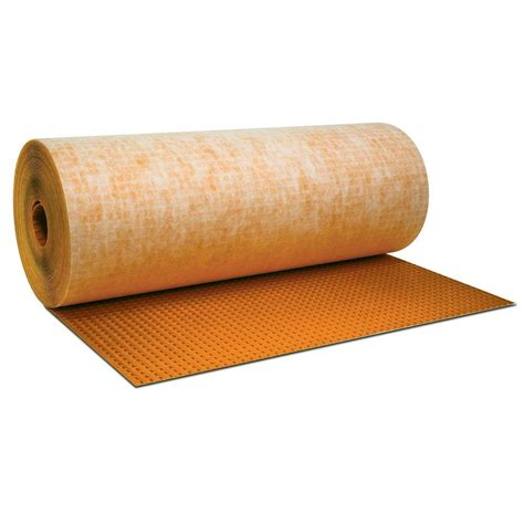 schluter ditra 54 sq ft 3 ft 3 in x 16 ft 5 in x 1 8