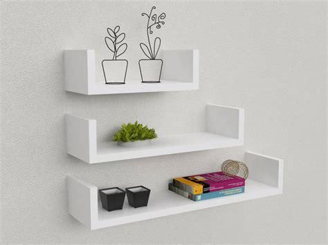 Mensole Economiche by Kit 3 Mensole Design 30 45 60 Cm In Mdf Design Minimale