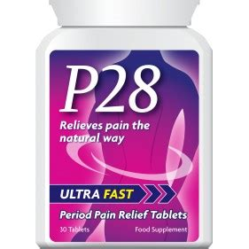 P28 ULTRA FAST PERIOD PAIN RELIEF TABLETS PMT - Dream Remedies