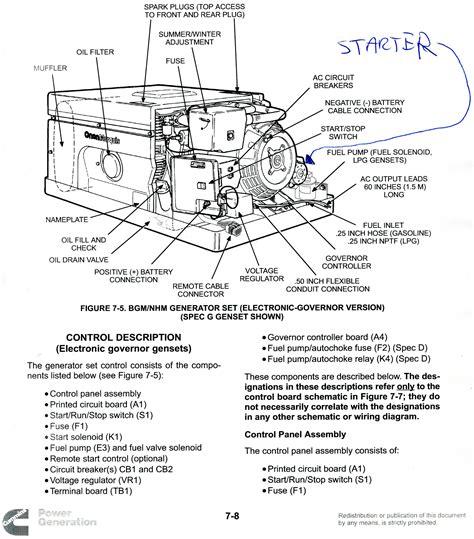 Onan 4000 Rv Generator Wiring Diagram by Onan Generator Wiring Diagram