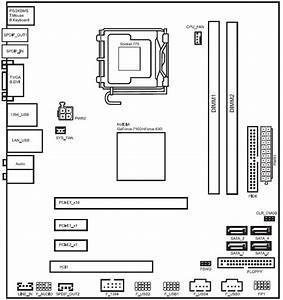 I Need The Motherboard Wiring Diagram Or Pictorial For The