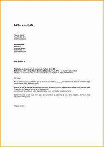 lettre de preavis logement lettre de motivation 2018 With preavis de depart location meublee