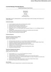 Therapy Resumes Samples Therapy Resume The Best Letter Sample