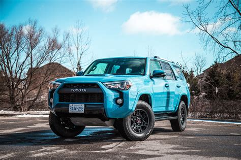 You can quickly see the different trim prices as well as other model information. Review: 2018 Toyota 4Runner TRD Pro | Canadian Auto Review
