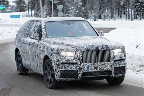 roll royce rolls royce cullinan suv closest look yet by car magazine