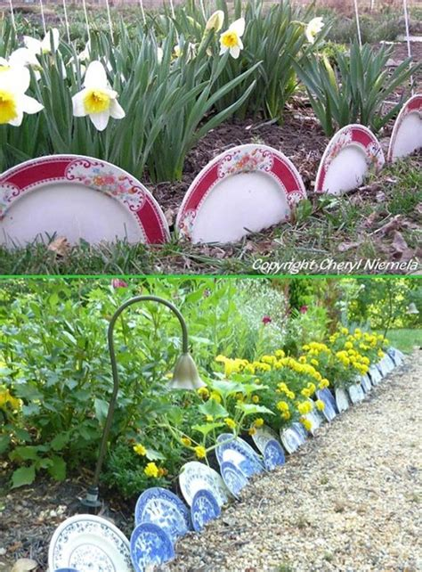 create awesome garden edging  improve  curb appeal