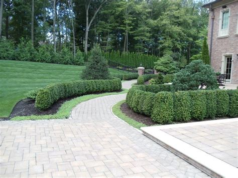 Formal Landscape In Bergen County, Nj This Unique Formal