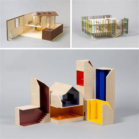 Dollhouses Designed By Architects one of a dollhouses designed by 20 architects