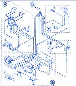 1997 Bayliner Wiring Diagram by Bayliner 1850 Ls 1999 Electrical Circuit Wiring