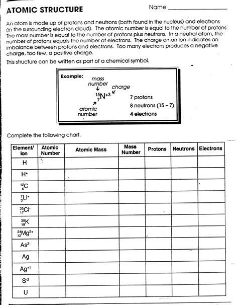 skills worksheet concept review section the development of atomic theory free printables worksheet