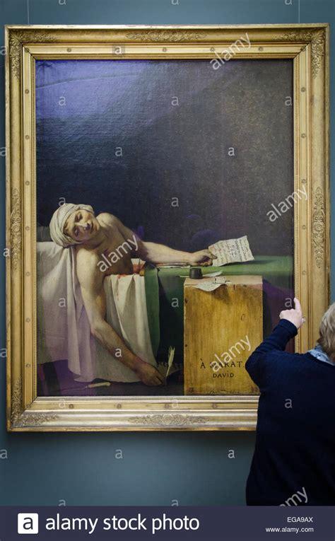 death  marat painting  brussels royal museum