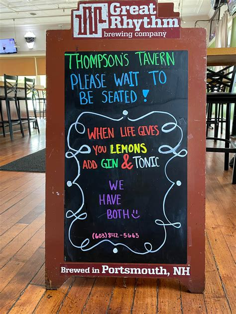 Dover, nh (cafe) and bedford, nh (roasting lab and tasting room). Thompson Tavern - Home - Dover, New Hampshire - Menu, Prices, Restaurant Reviews   Facebook