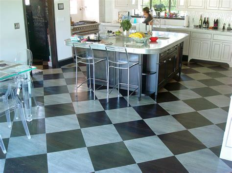 black and white checkered kitchen floor checkered flooring for your kitchen 9268