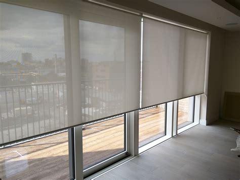 sliding door shades sunscreen roller blinds floor to ceiling windows