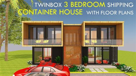 amazing shipping container home bedroom prefab design floor plans twinbox youtube