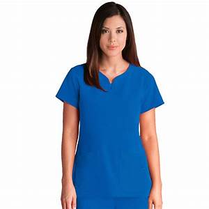Signature Series by Grey's Anatomy Women's Notch Neck Top
