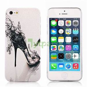 Cute girly hard plastic protective slim back case for ...
