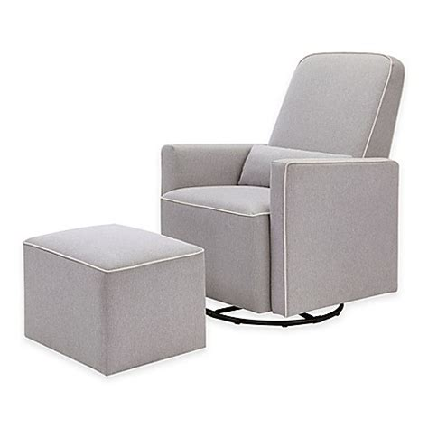 davinci olive upholstered swivel glider with ottoman davinci olive upholstered swivel glider and ottoman in