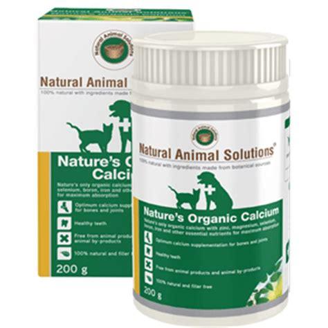 nas nature s organic calcium 200g